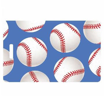 Picture of Baseball Luggage Tag