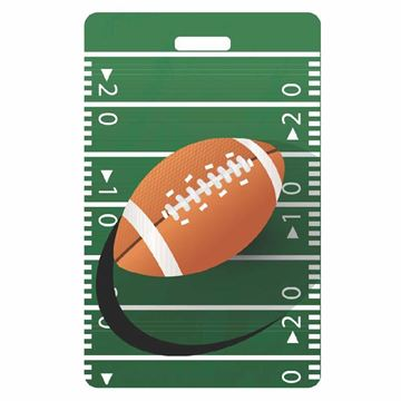 Picture of Football Luggage Tag