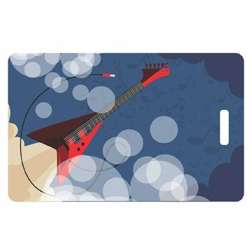 Picture of Rock Guitar Luggage Tag