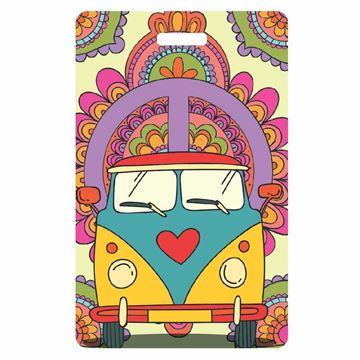 Picture of Flower Power Luggage Tag