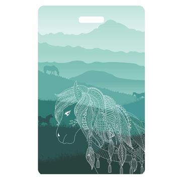 Picture of Horses Luggage Tag