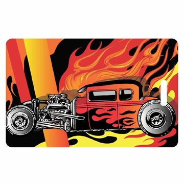 Picture of Hot Rod Luggage Tag