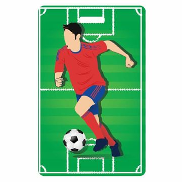 Picture of Soccer ILuggage Tag