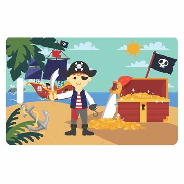 Picture of Pirate Child Luggage Tag