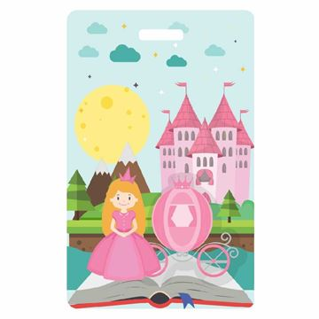 Picture of Pink Princess Child Luggage Tag