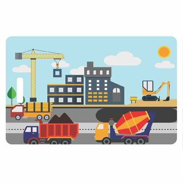 Picture of Construction Child Luggage Tag