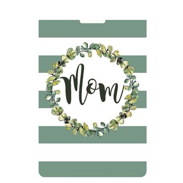 Picture of Green Stripe Mom Luggage Tag