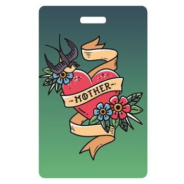 Picture of Mother Tattoo Luggage Tag