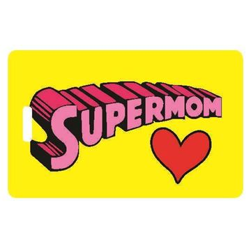 Picture of SuperMom Luggage Tag