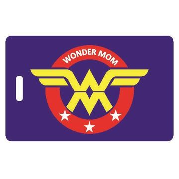 Picture of Wonder Mom Luggage Tag