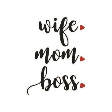 Picture of Wife-Mom-Boss Luggage Tag
