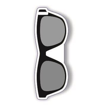 Picture of Black WayFayer Sunglass Shaped Luggage Tag
