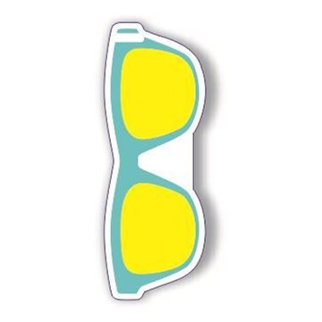 Picture of Blue WayFayer Sunglass Shaped Luggage Tag