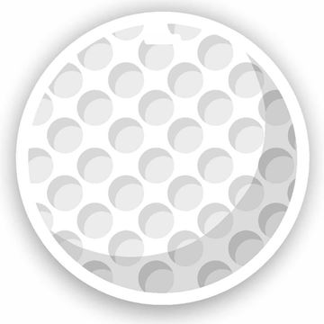 Picture of Golf Ball Emoji Luggage Tag