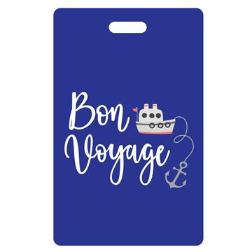Picture of Bon Voyage Blue Luggage Tags