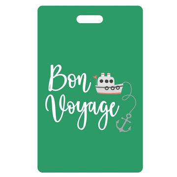 Picture of Bon Voyage Green Luggage Tags