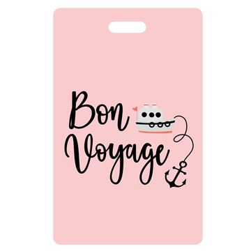 Picture of Bon Voyage  Pink Luggage Tags