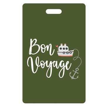 Picture of Bon Voyage Olive Luggage Tags