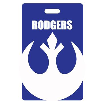 Picture of Force Blue Luggage Tag