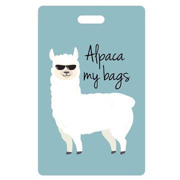 Picture of Alpaca my bags Luggage Tag